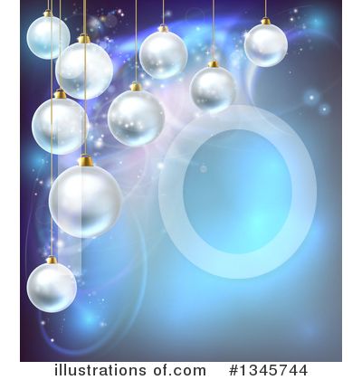 Christmas Background Clipart #1345744 by AtStockIllustration