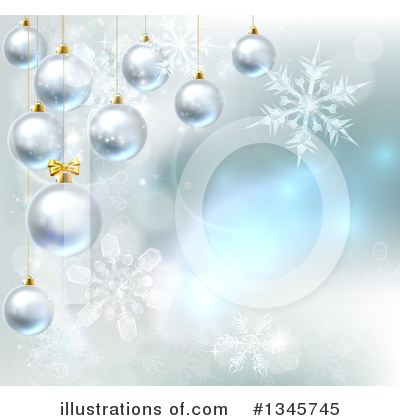 Christmas Background Clipart #1345745 by AtStockIllustration