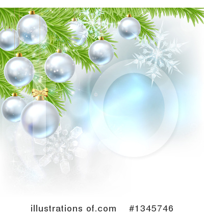 Christmas Background Clipart #1345746 by AtStockIllustration