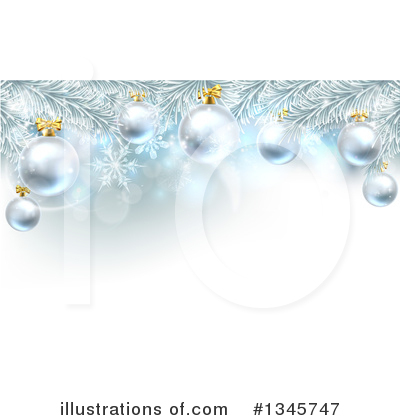 Christmas Background Clipart #1345747 by AtStockIllustration
