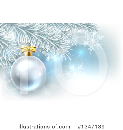 Christmas Background Clipart #1347139 by AtStockIllustration