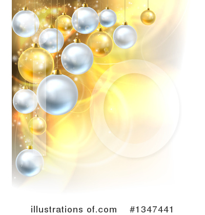 Christmas Background Clipart #1347441 by AtStockIllustration