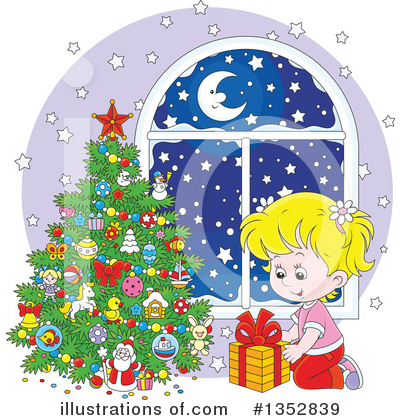 Royalty-Free (RF) Christmas Clipart Illustration by Alex Bannykh - Stock Sample #1352839