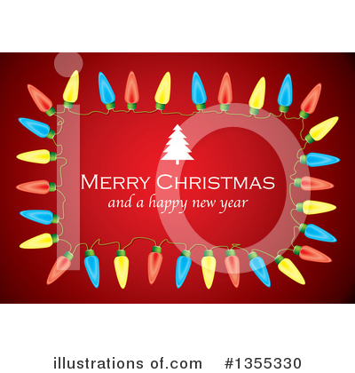 Merry Christmas Clipart #1355330 by michaeltravers