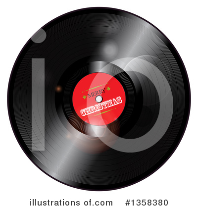 Vinyl Records Clipart #1358380 by elaineitalia