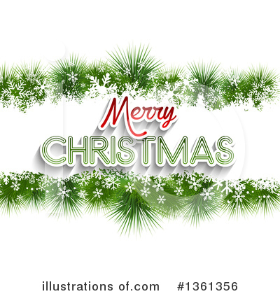 Merry Christmas Clipart #1361356 by KJ Pargeter