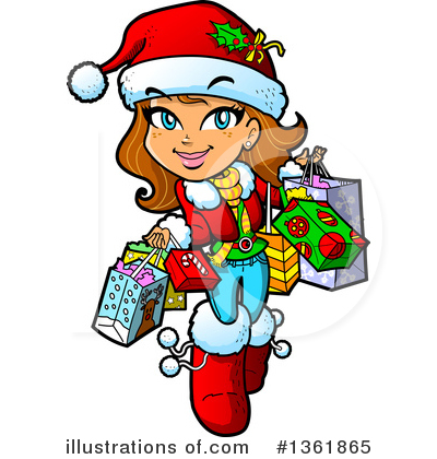 Christmas Clipart #1361865 by Clip Art Mascots