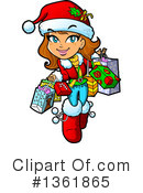 Royalty-Free (RF) Christmas Clipart Illustration #1361865