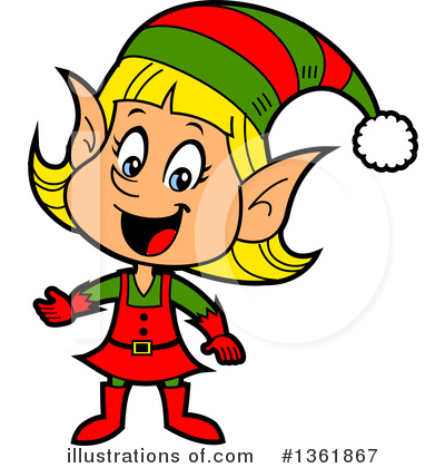 Christmas Clipart #1361867 by Clip Art Mascots