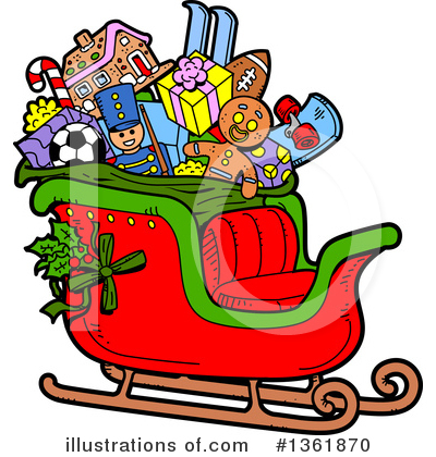 Christmas Clipart #1361870 by Clip Art Mascots