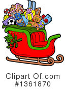 Royalty-Free (RF) Christmas Clipart Illustration #1361870