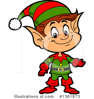 Christmas Clipart #1361873 by Clip Art Mascots