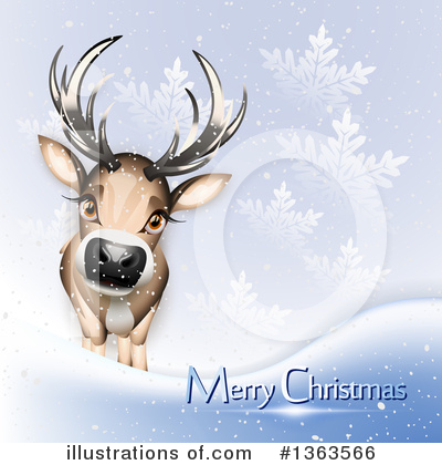 Christmas Greetings Clipart #1363566 by Oligo