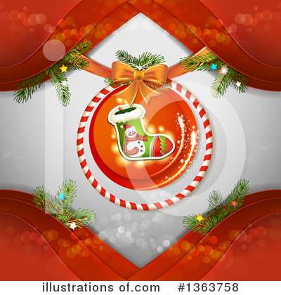 Christmas Stocking Clipart #1363758 by merlinul