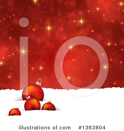 Royalty-Free (RF) Christmas Clipart Illustration by KJ Pargeter - Stock Sample #1363804