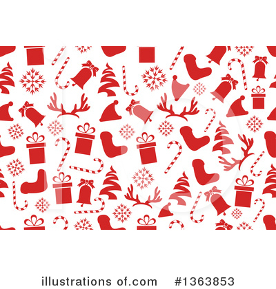 Christmas Background Clipart #1363853 by vectorace