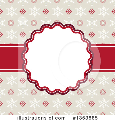 Christmas Background Clipart #1363885 by vectorace