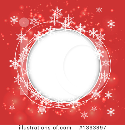 Christmas Background Clipart #1363897 by vectorace