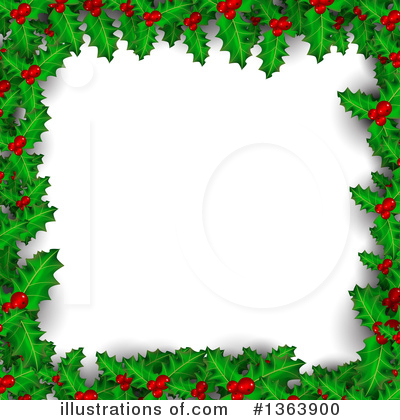 Christmas Background Clipart #1363900 by vectorace