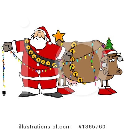 Cow Clipart #1365760 by djart