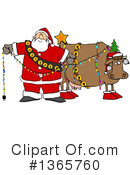 Royalty-Free (RF) Christmas Clipart Illustration #1365760
