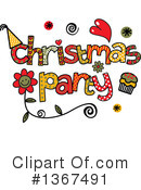 Royalty-Free (RF) Christmas Clipart Illustration #1367491