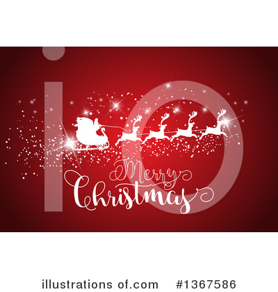 Royalty-Free (RF) Christmas Clipart Illustration by KJ Pargeter - Stock Sample #1367586