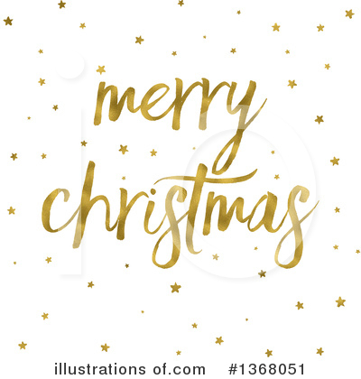 Merry Christmas Clipart #1368051 by KJ Pargeter