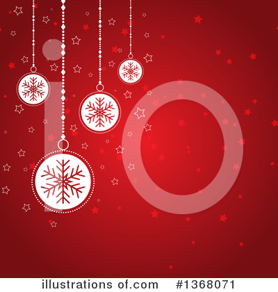 Christmas Background Clipart #1368071 by KJ Pargeter