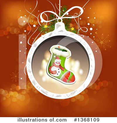 Christmas Stocking Clipart #1368109 by merlinul