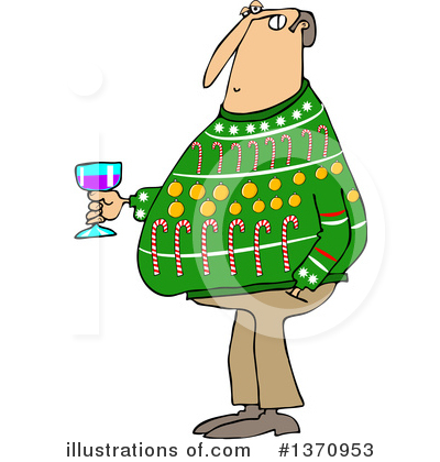 Christmas Sweater Clipart #1370953 by djart
