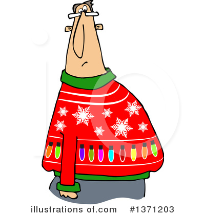 Christmas Sweater Clipart #1371203 by djart