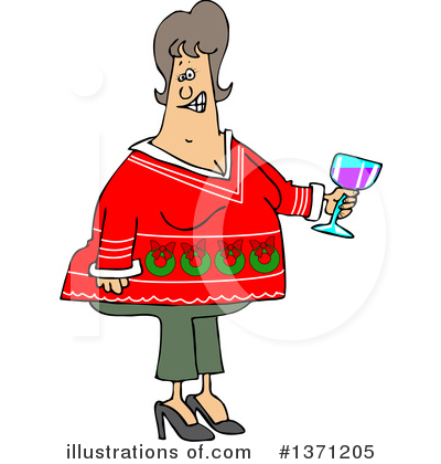 Christmas Sweater Clipart #1371205 by djart