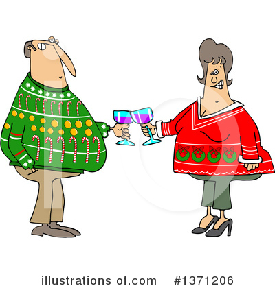 Christmas Sweater Clipart #1371206 by djart