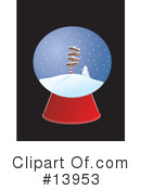 Royalty-Free (RF) Christmas Clipart Illustration #13953