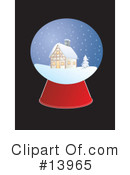 Royalty-Free (RF) Christmas Clipart Illustration #13965