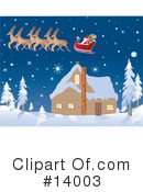 Royalty-Free (RF) Christmas Clipart Illustration #14003