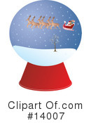 Royalty-Free (RF) Christmas Clipart Illustration #14007