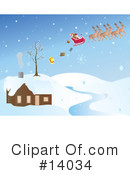 Royalty-Free (RF) Christmas Clipart Illustration #14034
