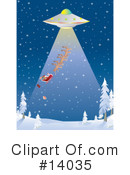 Royalty-Free (RF) Christmas Clipart Illustration #14035