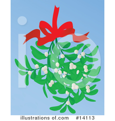 Mistletoe Clipart #14113 by Rasmussen Images