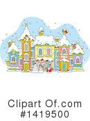 Royalty-Free (RF) Christmas Clipart Illustration #1419500