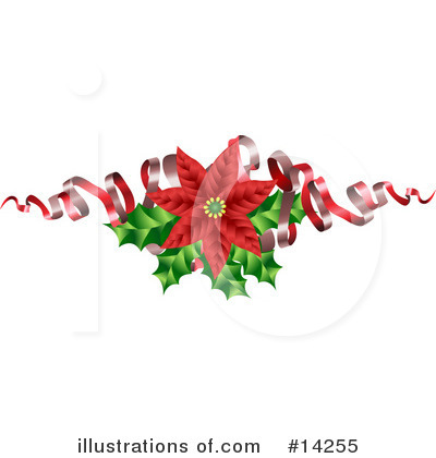 Holly Clipart #14255 by AtStockIllustration