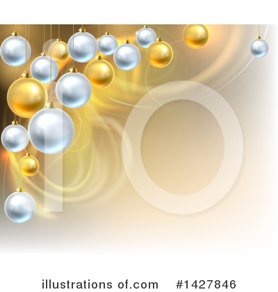 Christmas Background Clipart #1427846 by AtStockIllustration