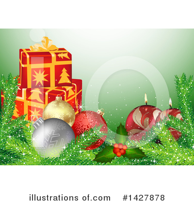 Christmas Background Clipart #1427878 by dero