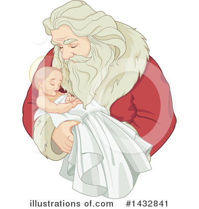 Santa Clipart #1432841 by Pushkin