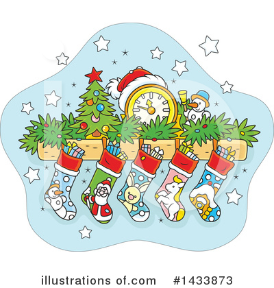 Christmas Clipart #1433873 by Alex Bannykh