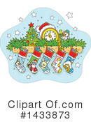 Royalty-Free (RF) Christmas Clipart Illustration #1433873