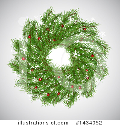 Wreath Clipart #1434052 by KJ Pargeter