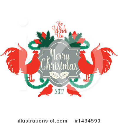 New Year Clipart #1434590 by Vector Tradition SM